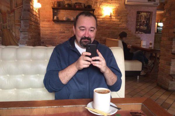 Васильев. Интервью. Кофе