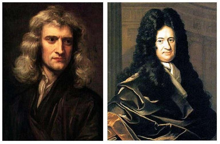 Ньютон и Лейбниц